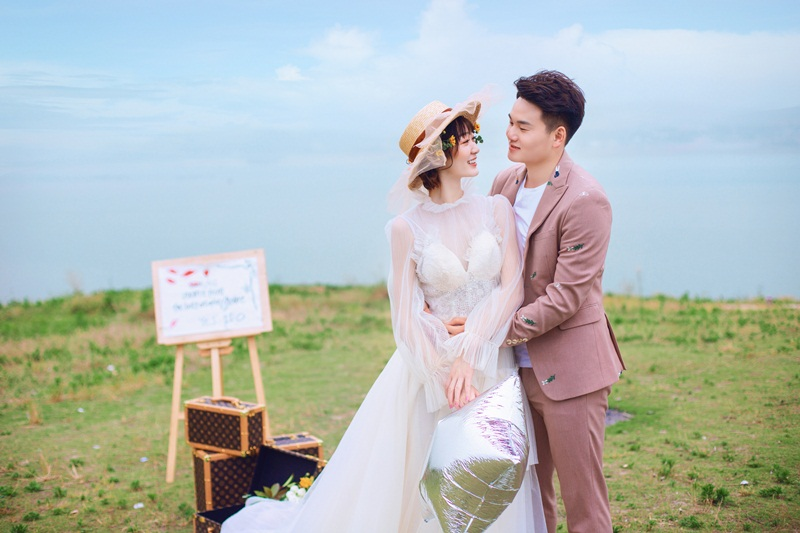 【十堰婚纱摄影】 正确拍摄森系婚纱照的方法,了解一下