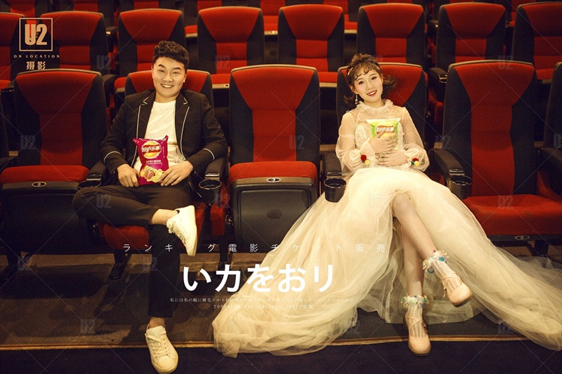 【十堰婚纱摄影】拍婚纱照的三个巧妙搭配让你更上镜