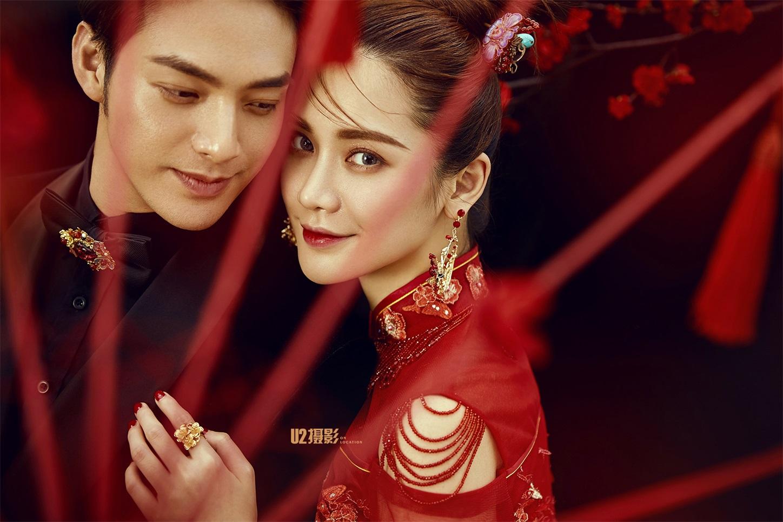 新中式《红梅》