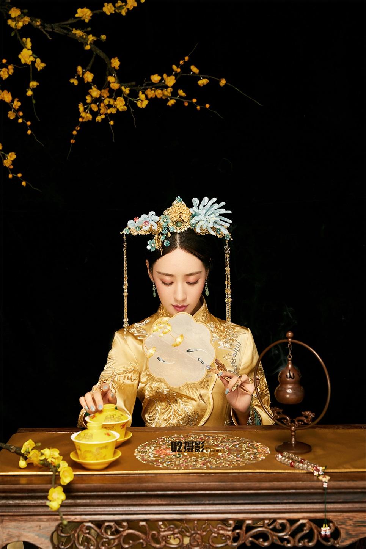 新中式《腊梅》